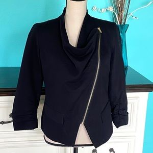 💖 Apostrophe Blazer Jacket Ruched Sleeves Small